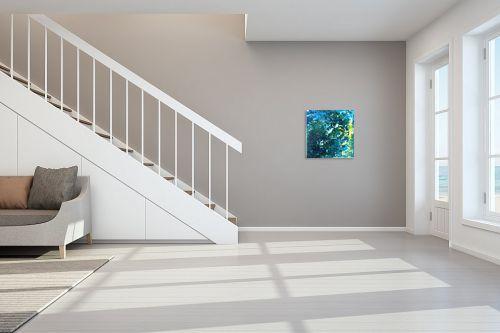 תמונה לחדר מדרגות - אירית שרמן-קיש - זרמים במרחב - מק''ט: 319968