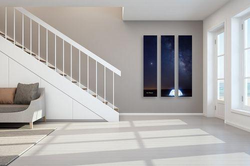 תמונה לחדר מדרגות - ענת שיוביץ - E.T. call home - מק''ט: 320166