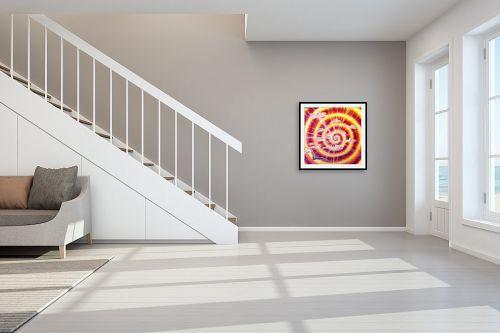 תמונה לחדר מדרגות - אילה ארויו - שחף בשמי זריחה - מק''ט: 321071