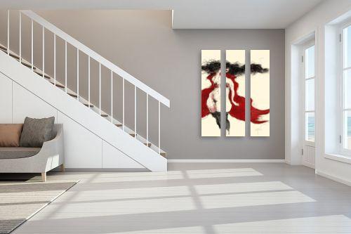תמונה לחדר מדרגות - גורדון - סערה באדום - מק''ט: 321250