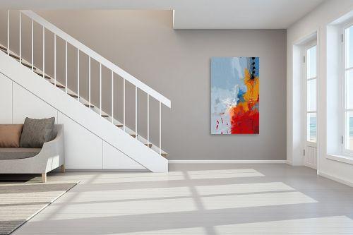 תמונה לחדר מדרגות - גורדון - מופשט 202 - מק''ט: 322405