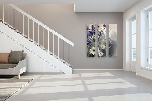 תמונה לחדר מדרגות - אסתר טל - פריחה - מק''ט: 322748