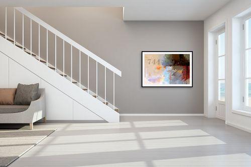 תמונה לחדר מדרגות - גורדון - מופשט 744 - מק''ט: 322754
