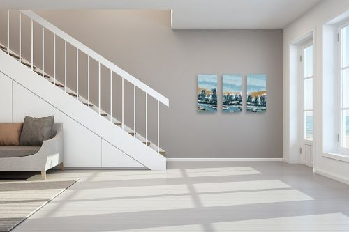 תמונה לחדר מדרגות - אורי רדלר - עיר נמל - מק''ט: 323726