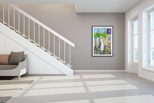 תמונה לחדר מדרגות - רוחלה פליישר - אהבה בשניים - מק''ט: 324172