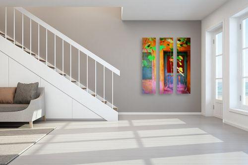 תמונה לחדר מדרגות - אורית גפני - על מפתן הדלת - מק''ט: 324573