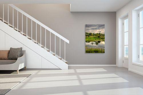 תמונה לחדר מדרגות - איזבלה אלקבץ - השתקפות - מק''ט: 325123