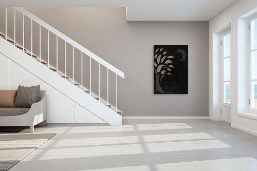 תמונה לחדר מדרגות - חני שפר - לילה - מק''ט: 325501