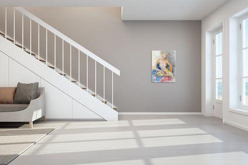 תמונה לחדר מדרגות - חני שפר - אהבה צנועה - מק''ט: 325516