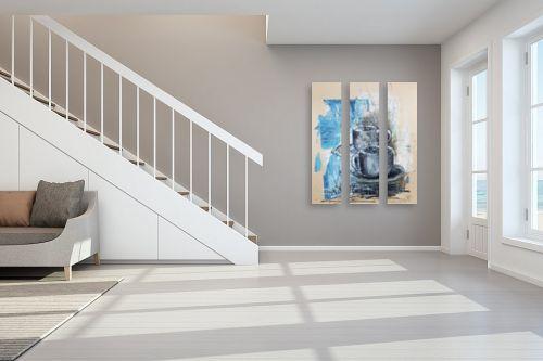 תמונה לחדר מדרגות - חני שפר - קפה לשניים - מק''ט: 325553