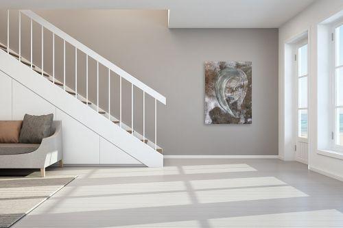 תמונה לחדר מדרגות - חני שפר - דיוקן אישה - מק''ט: 325560