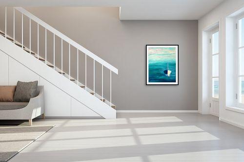 תמונה לחדר מדרגות - אורית גפני - אחת ויחידה - מק''ט: 325782