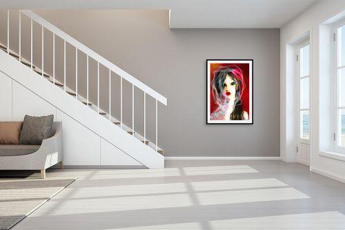 תמונה לחדר מדרגות - גורדון - בקיץ הזה תלבשי לבן - מק''ט: 326180