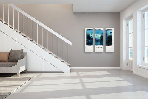 תמונה לחדר מדרגות - גורדון - גשם - מק''ט: 328307