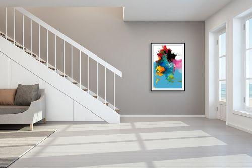 תמונה לחדר מדרגות - גורדון - התפרצות בלב ים - מק''ט: 328380