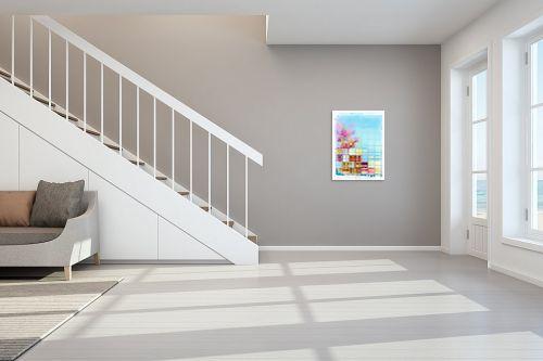 תמונה לחדר מדרגות - גורדון - בוקר של סתיו - מק''ט: 328456