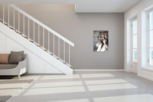 תמונה לחדר מדרגות - בתיה שגיא - מלאכית הפרחים - מק''ט: 328882