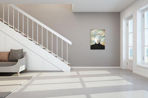 תמונה לחדר מדרגות - בתיה שגיא - ראש בעננים - מק''ט: 328888