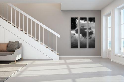 תמונה לחדר מדרגות - אילן עמיחי - ענן - מק''ט: 329128