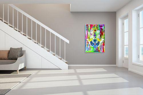 תמונה לחדר מדרגות - ליאת גבע - חמסה  - מק''ט: 329429