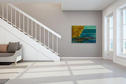 תמונה לחדר מדרגות - אסתר חן-ברזילי - על פלגי מים - מק''ט: 329437
