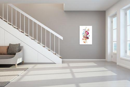 תמונה לחדר מדרגות - Artpicked - זר בוטני - מק''ט: 329684