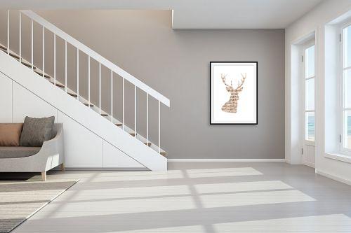 תמונה לחדר מדרגות - Artpicked - אייל מוזיקלי - מק''ט: 329694