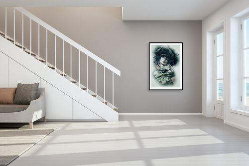 תמונה לחדר מדרגות - Artpicked - גותית - מק''ט: 329728