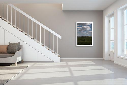 תמונה לחדר מדרגות - אלעד דרור - בצלצלים ועננים - מק''ט: 329824