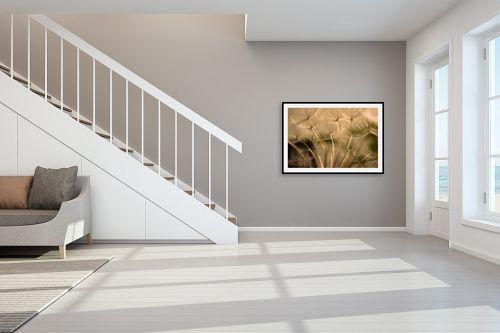 תמונה לחדר מדרגות - שי וייס - זהב - מק''ט: 329931