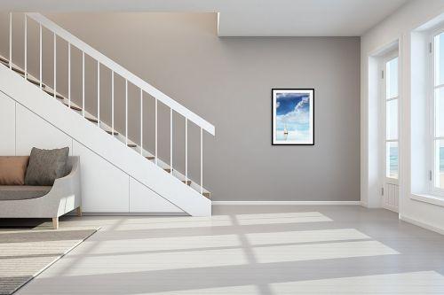 תמונה לחדר מדרגות - Artpicked - צלילות - מק''ט: 330448