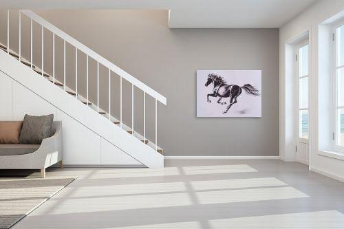 תמונה לחדר מדרגות - נטליה ברברניק - שחור - מק''ט: 330492