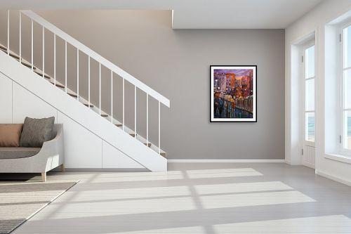 תמונה לחדר מדרגות - שמואל מושניק - הרכבת הקלה בירושלים (2) - מק''ט: 330964