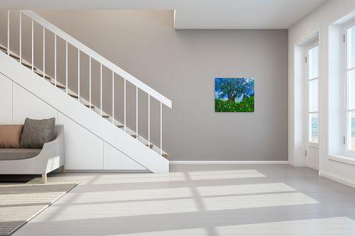 תמונה לחדר מדרגות - שמואל מושניק - זית חברוני בסוף החורף - מק''ט: 330991