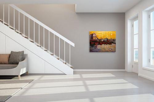 תמונה לחדר מדרגות - שמואל מושניק - נמל יפו - מק''ט: 330996
