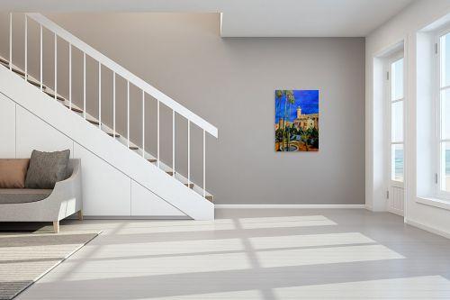 תמונה לחדר מדרגות - שמואל מושניק - מערת המכפלה - מק''ט: 330999