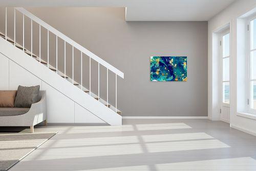 תמונה לחדר מדרגות - Artpicked - Liquid dream - מק''ט: 331021