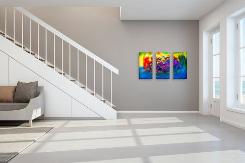 תמונה לחדר מדרגות - אורית גפני - בתנועה - מק''ט: 331070