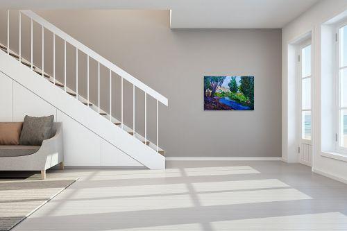 תמונה לחדר מדרגות - שמואל מושניק - נחל הקיבוצים, עמק בית שאן - מק''ט: 331332