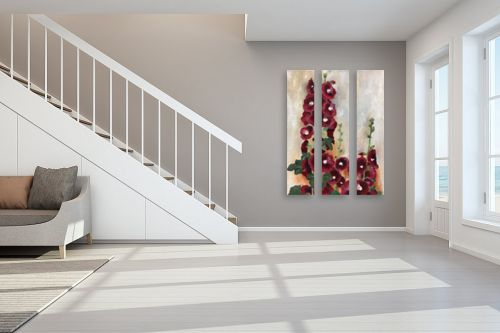 תמונה לחדר מדרגות - אסתר טל - פריחה - מק''ט: 331336