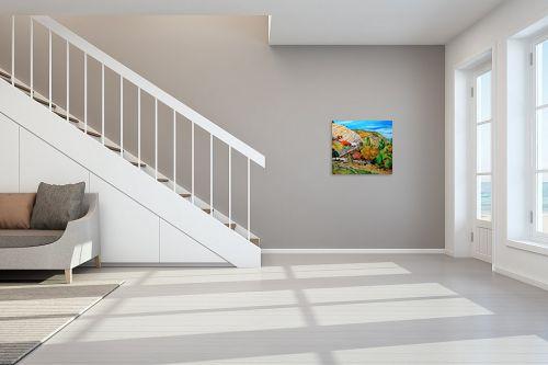 תמונה לחדר מדרגות - שמואל מושניק - עמוקה,קבר יונתן בן עוזיאל - מק''ט: 331703