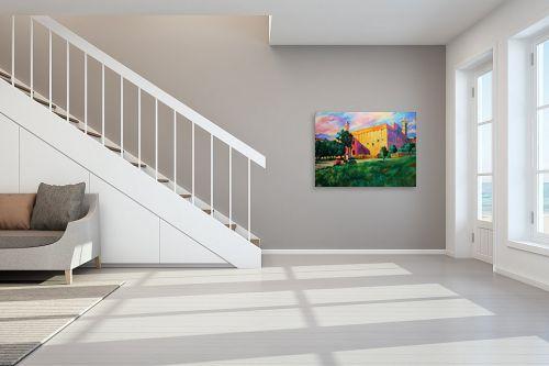 תמונה לחדר מדרגות - שמואל מושניק - רומנטיקה במערת המכפלה - מק''ט: 331754