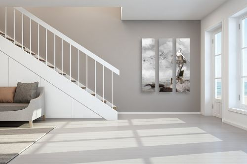 תמונה לחדר מדרגות - Artpicked - חלום סוריאליסטי - מק''ט: 331790