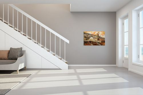 תמונה לחדר מדרגות - שמואל מושניק - קבר יוסף בתחילת המאה ה-20 - מק''ט: 331816