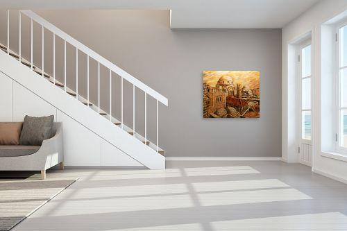 תמונה לחדר מדרגות - שמואל מושניק - החורבה בראשית המאה ה-20 - מק''ט: 332094