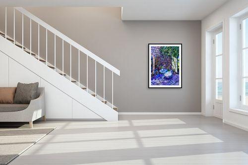 תמונה לחדר מדרגות - שמואל מושניק - פינת חמד - מק''ט: 332227