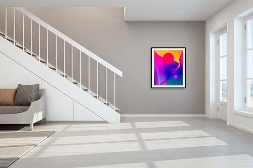 תמונה לחדר מדרגות - אורית גפני - ציפורים בשמש - מק''ט: 332449