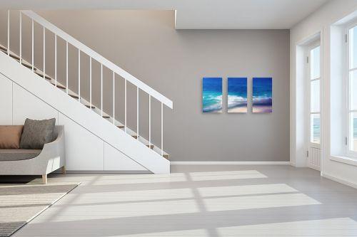 תמונה לחדר מדרגות - אורית גפני - מגע הגלים - מק''ט: 332694