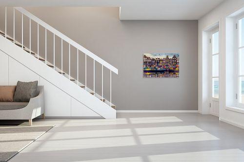 תמונה לחדר מדרגות - Artpicked - אמסטרדם אהובתי - מק''ט: 333001
