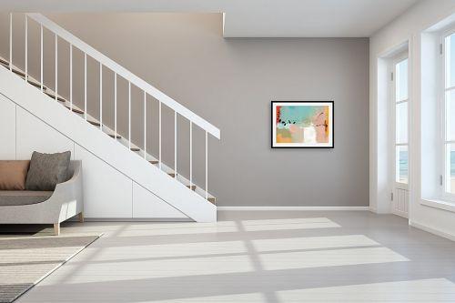 תמונה לחדר מדרגות - גורדון - מופשט 404 - מק''ט: 333316